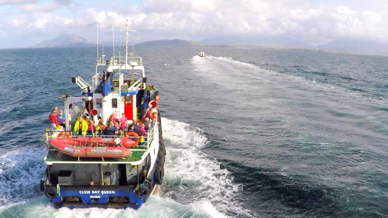 Clare Island Ferry times